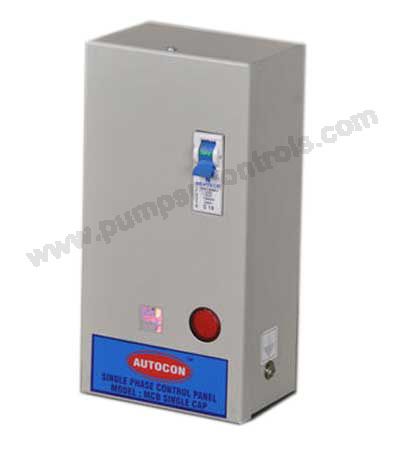 Single Phase Control Panel MCB Type For Openwell Pump