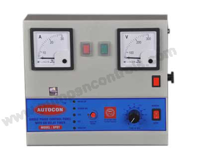 Single Phase Control Panel With Timer