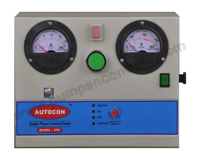 Single Phase Electronic Control Panel