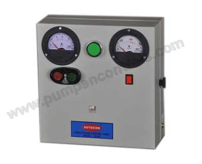 Single Phase Pump Control Panel with contactor