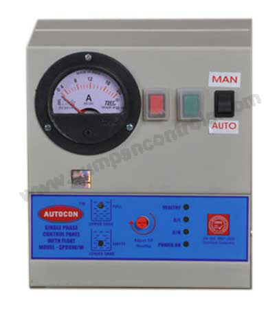 Single Phase Water Level Control Panel For Open Well Pump