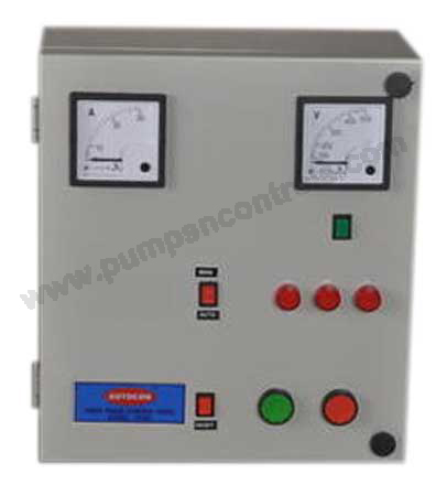 Three Phase Motor Control Panel