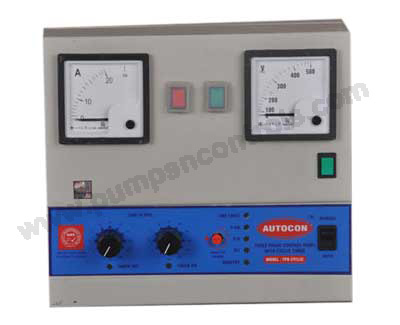 Three Phase Cyclic Timer Control Panel